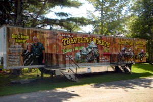 Truck trailer digitally printed 3M graphics wrap designed printed and installed by Green Screen Graphics of Rutland Vermont