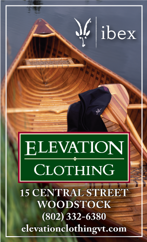 Advertisement Design for Elevation Clothing inWoodstock, VT