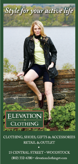 Clothing Advertisement for Elevation Clothing.